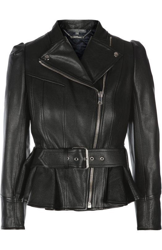Кожаная куртка Alexander McQueen 417594/Q5KLZ