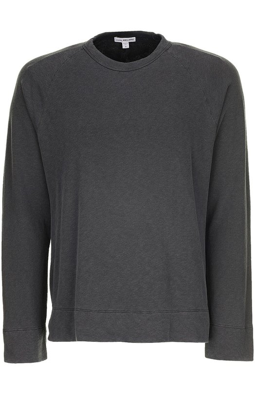 Пуловер джерси James PerseСвитеры<br><br><br>Российский размер RU: 44<br>Пол: Мужской<br>Возраст: Взрослый<br>Размер производителя vendor: 1<br>Материал: Хлопок: 100%;<br>Цвет: Серый
