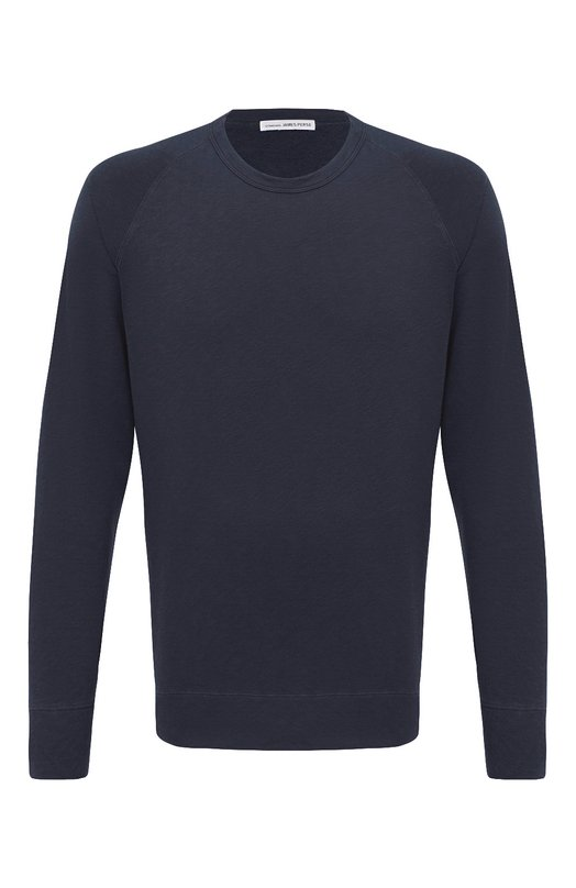 Пуловер джерси James PerseСвитеры<br><br><br>Российский размер RU: 44<br>Пол: Мужской<br>Возраст: Взрослый<br>Размер производителя vendor: 1<br>Материал: Хлопок: 100%;<br>Цвет: Темно-синий
