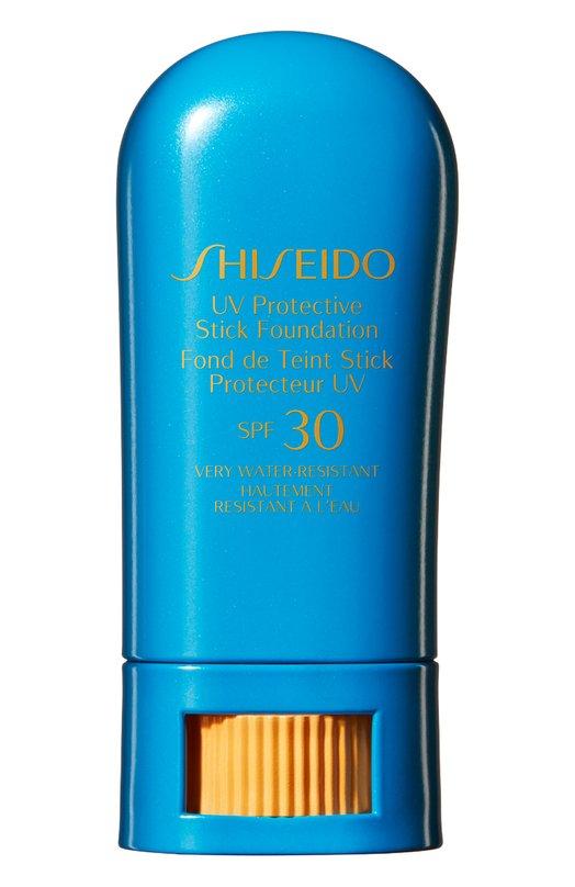 Солнцезащитное тональное средство-стик Suncare SPF 30 ShiseidoЗащита от солнца<br><br><br>Объем мл: 0<br>Пол: Женский<br>Возраст: Взрослый<br>Цвет: Бесцветный