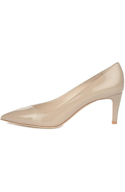 Лаковые туфли с зауженным мысом Giorgio Armani X1E310/XC074