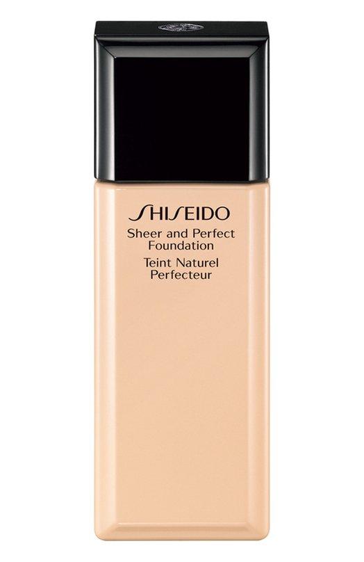 Тональное средство с полупрозрачной текстурой I00 ShiseidoТональные средства<br><br><br>Объем мл: 30<br>Пол: Женский<br>Возраст: Взрослый<br>Цвет: Бесцветный
