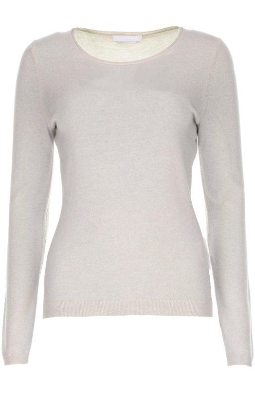 Пуловер прямого кроя с круглым вырезом BOSSСвитеры<br><br><br>Российский размер RU: 52<br>Пол: Женский<br>Возраст: Взрослый<br>Размер производителя vendor: XL<br>Цвет: Бежевый