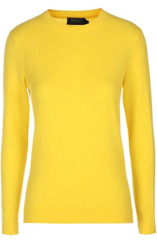 Купить Вязаный пуловер Polo Ralph Lauren, V39/IG238/WG001, Китай, Желтый, Кашемир: 100%;
