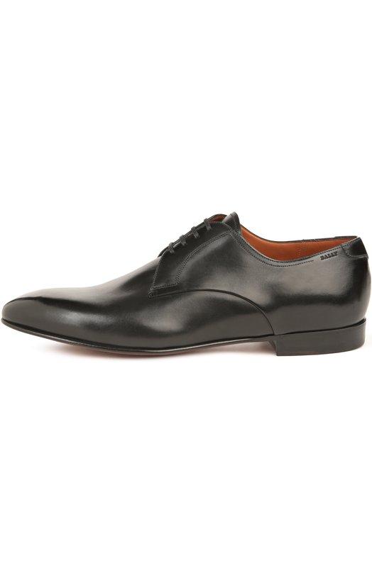Туфли BallyТуфли<br>Дерби вошли в весенне-летнюю коллекцию 2016 года. Обувь на тонкой подошве, с зауженным мысом и на низком каблуке произведена мастерами марки, основанной Карлом Францем Балли, из гладкой матовой черной кожи.<br><br>Российский размер RU: 41<br>Пол: Мужской<br>Возраст: Взрослый<br>Размер производителя vendor: 7-5<br>Материал: Кожа натуральная: 100%; Стелька-кожа: 100%; Подошва-кожа: 100%;<br>Цвет: Черный