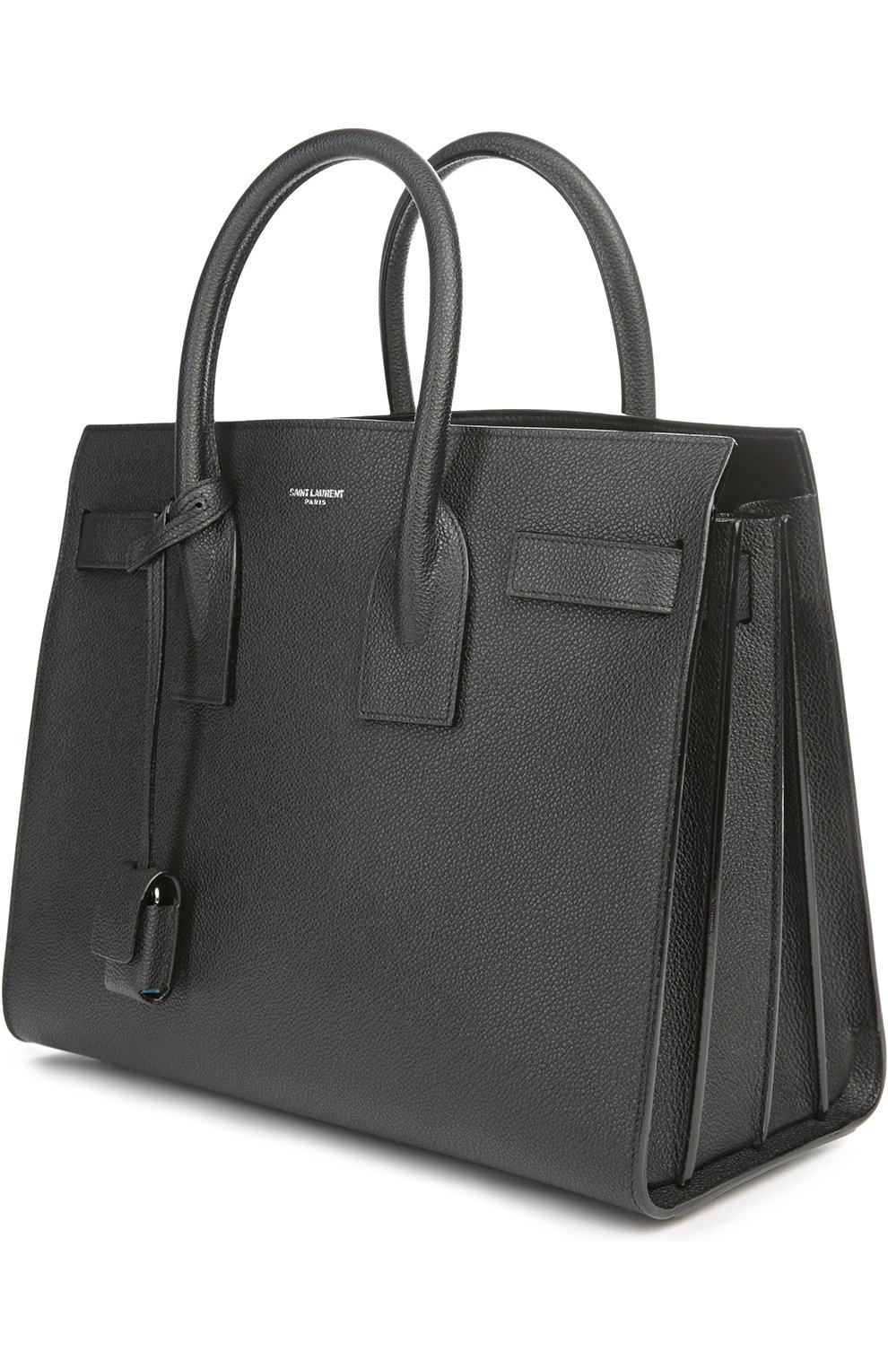 Сумка Sac De Jour Saint Laurent черная | Фото №3