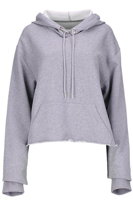 Пуловер джерси Mm6Свитеры<br><br><br>Российский размер RU: 44<br>Пол: Женский<br>Возраст: Взрослый<br>Размер производителя vendor: M<br>Материал: Хлопок: 65%; Полиэстер: 35%;<br>Цвет: Светло-серый
