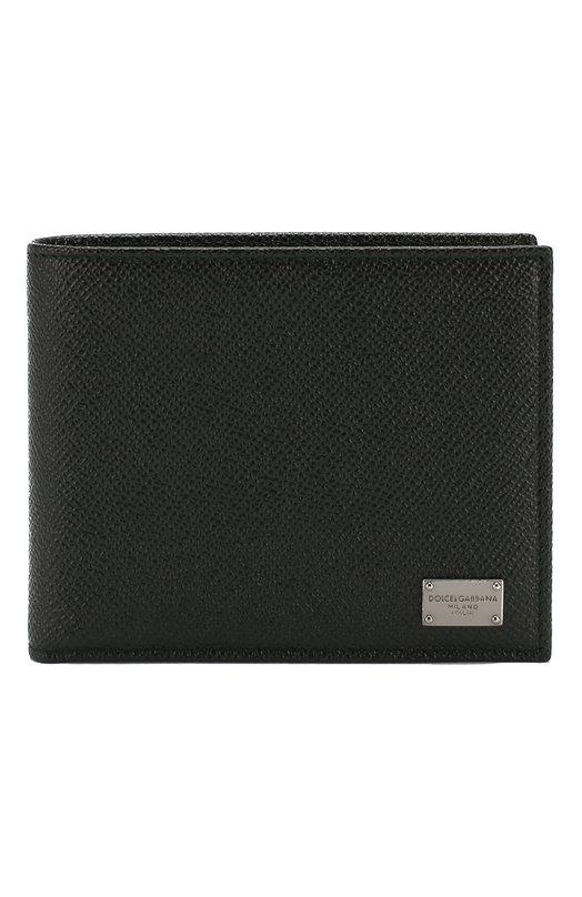 Кожаное портмоне с логотипом бренда Dolce & Gabbana 0115/BP0457/A1001