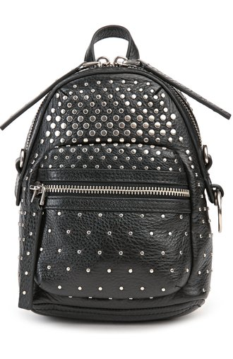 Рюкзак Domo Biker Degrade Studs Marc by Marc Jacobs чёрный | Фото №1