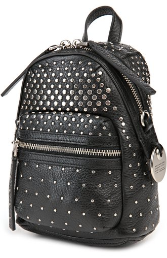 Рюкзак Domo Biker Degrade Studs Marc by Marc Jacobs чёрный | Фото №3