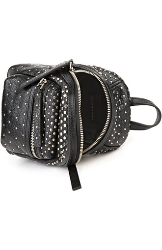 Рюкзак Domo Biker Degrade Studs Marc by Marc Jacobs чёрный | Фото №4