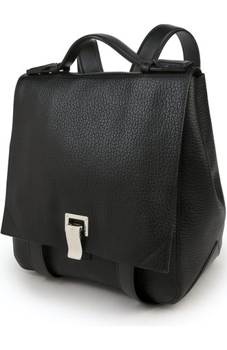 Рюкзак Courier Small Back Pack Proenza Schouler чёрный | Фото №3