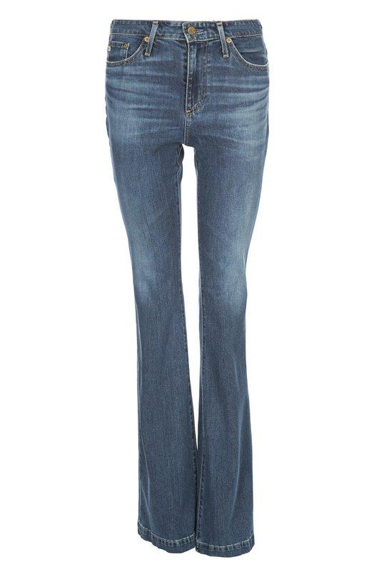 Джинсы AgДжинсы<br>Джинсы boot cut выполнены из синего хлопка стрейч с небольшими потертостями. Модель со шлевками для широкого ремня вошла в весенне-летнюю коллекцию 2016 года. Попробуйте носить с серым джемпером и босоножками на высоком каблуке.<br><br>Российский размер RU: 38<br>Пол: Женский<br>Возраст: Взрослый<br>Размер производителя vendor: 24<br>Материал: Хлопок: 98%; Полиуретан: 2%;<br>Цвет: Синий