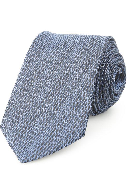 Галстук Z ZegnaГалстуки<br>В коллекцию сезона весна-лето 2016 года вошел галстук черного цвета, украшенный рисунком в виде синих пересекающихся диагональных линий. Для изготовления модели мастера марки, основанной Эрменеджильдо Зенья, использовали мягкий фактурный шелк-гренадин.<br><br>Пол: Мужской<br>Возраст: Взрослый<br>Размер производителя vendor: NS<br>Материал: Шелк: 100%;<br>Цвет: Синий