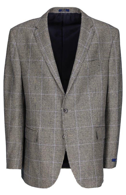 Костюм Polo Ralph LaurenКостюмы<br>Ральф Лорен включил в весенне-летнюю коллекцию 2016 года костюм в клетку. Для производства однобортного приталенного пиджака с тремя карманами и зауженны брюк была использована фактурной шерстяной ткани.<br><br>Российский размер RU: 50<br>Пол: Мужской<br>Возраст: Взрослый<br>Размер производителя vendor: 44-R<br>Материал: Шерсть: 100%; Подкладка-купра: 100%;<br>Цвет: Серый