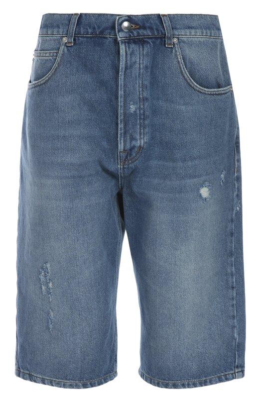 Джинсовые шорты MCQ 399834/RG004