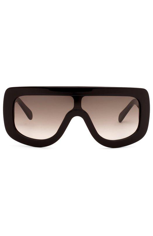 Купить Солнцезащитные очки Céline Eyewear, 41377 807, Италия, Черный