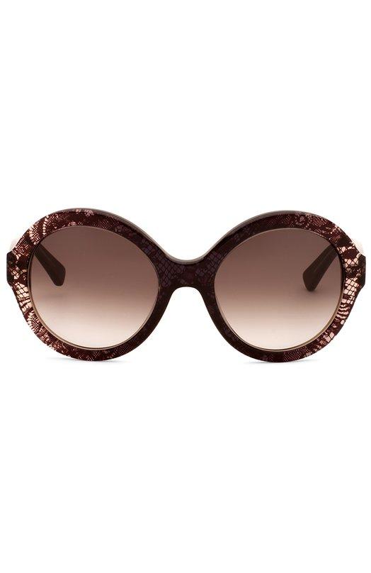 Солнцезащитные очки ValentinoОчки<br><br><br>Пол: Женский<br>Возраст: Взрослый<br>Размер производителя vendor: NS<br>Цвет: Коричневый