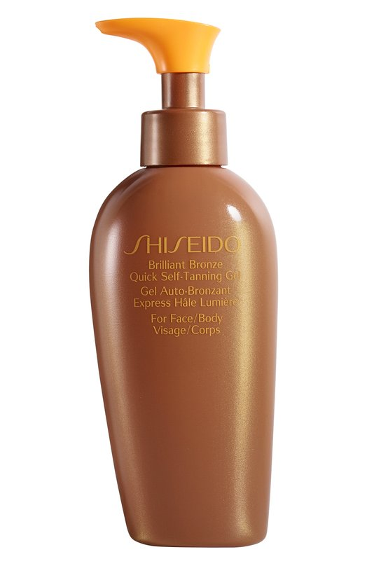 Купить Гель-автозагар ускоренного действия для лица и тела Suncare Shiseido, 12573SH, Япония, Бесцветный