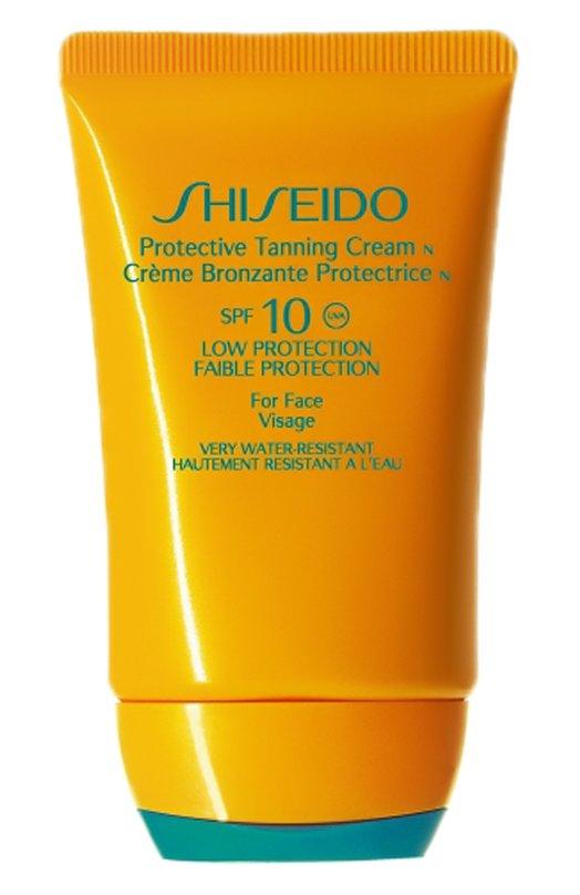 Купить Защитный крем для загара SPF10 Shiseido, 12608SH, Франция, Бесцветный