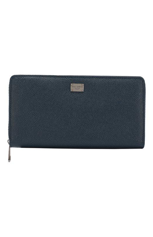 Кожаное портмоне на молнии Dolce & Gabbana 0115/BP1672/A1001