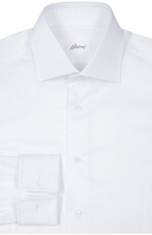 Купить Сорочка Brioni, RCL9/P500T, Италия, Белый, Хлопок: 100%;