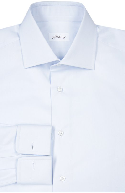 Купить Сорочка Brioni, RCL9/PZ000, Италия, Светло-голубой, Хлопок: 100%;