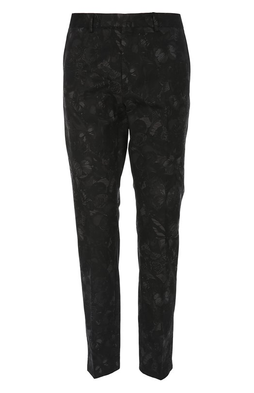 Брюки ValentinoБрюки<br>Черные брюки чинос с четырьмя карманами вошли в весенне-летнюю коллекцию бренда, основанного Валентино Гаравани. Модель выполнена из приятного на ощупь мягкого хлопка со сплошным принтом Camubutterfly Noir.<br><br>Российский размер RU: 50<br>Пол: Мужской<br>Возраст: Взрослый<br>Размер производителя vendor: 48<br>Материал: Хлопок: 100%;<br>Цвет: Черный