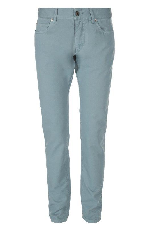 Джинсы Dolce &amp; GabbanaДжинсы<br>Доменико Дольче и Стефано Габбана включили прямые джинсы голубого оттенка в коллекцию сезона весна-лето 2016 года. Изделие сшито мастерами бренда из мягкого плотного хлопка. Наши стилисты предлагают носить с поло и кедами.<br><br>Российский размер RU: 46<br>Пол: Мужской<br>Возраст: Взрослый<br>Размер производителя vendor: 44<br>Материал: Хлопок: 100%;<br>Цвет: Голубой