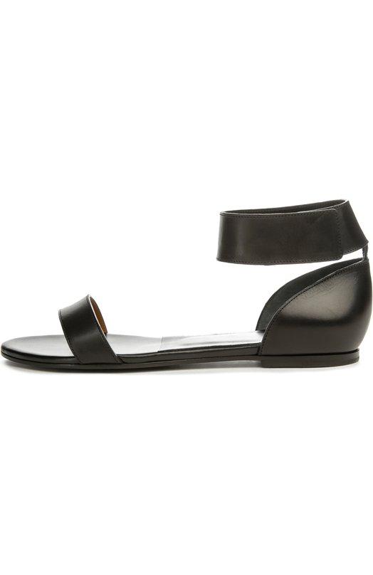 Кожаные сандалии Redge с ремешком на щиколотке Chloe CH24205/NAPPA DREAM SHEEPSKIN