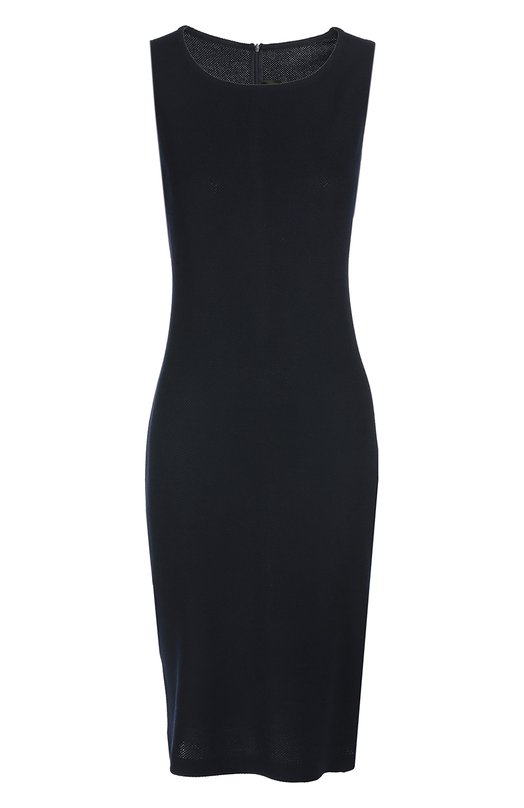 Платье St. JohnПлатья<br>В весенне-летнюю коллекцию 2016 года вошло темно-синее платье-футляр без рукавов, с круглым вырезом. Модель выполнена из мягких шерстяных волокон, сплетенных в технике Santana, благодаря чему изделие не деформируется.<br><br>Российский размер RU: 50<br>Пол: Женский<br>Возраст: Взрослый<br>Размер производителя vendor: 12<br>Материал: Шерсть: 60%; Вискоза: 40%;<br>Цвет: Темно-синий