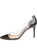 Туфли Plexy Pump Gianvito Rossi черные | Фото №1