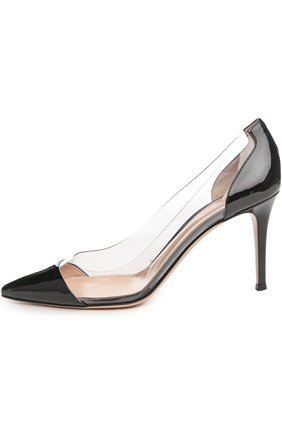 Туфли Plexy Pump Gianvito Rossi жёлтые | Фото №6
