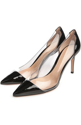 Туфли Plexy Pump Gianvito Rossi жёлтые | Фото №14