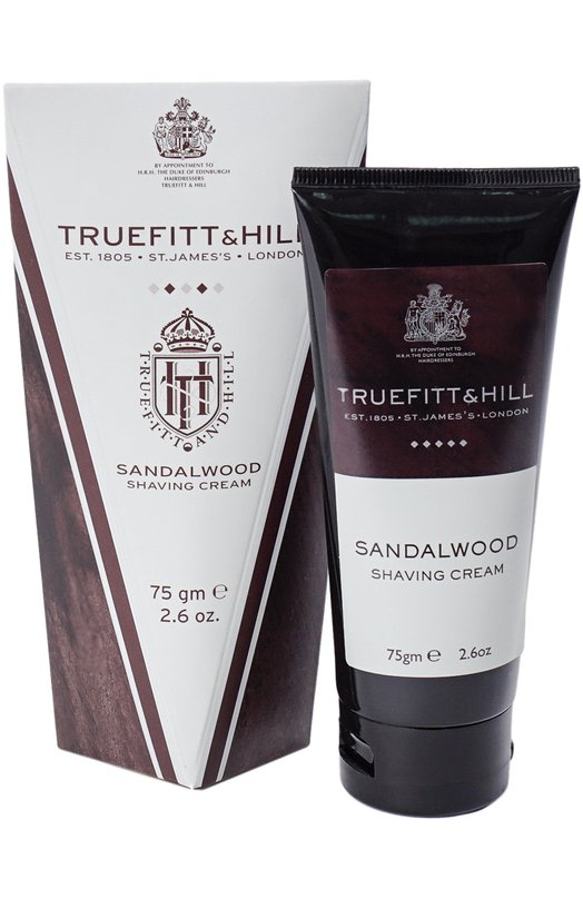 Крем для бритья в тюбике Sandalwood Truefitt&Hill 553