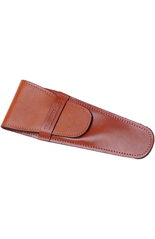 Кожаный чехол для бритвы коричневый Truefitt&amp;HillДля бритья<br><br><br>Объем мл: 0<br>Пол: Мужской<br>Возраст: Взрослый<br>Цвет: Коричневый