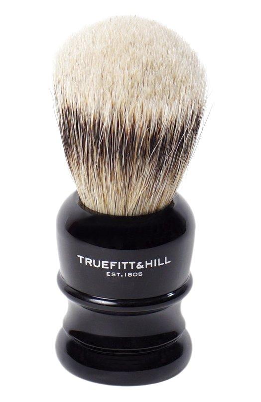 Купить Помазок Шерсть барсука/Эбонит с серебром Wellington Truefitt&Hill, 191, Великобритания, Бесцветный