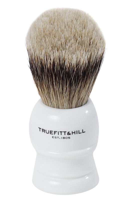 Купить Помазок Шерсть барсука/Фарфор с серебром Wellington Truefitt&Hill, 195, Великобритания, Бесцветный