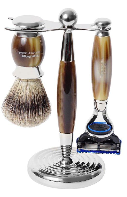 Купить Кисть для бритья Станок с лезвием Fusion Рог Truefitt&Hill, 352, Великобритания, Бесцветный