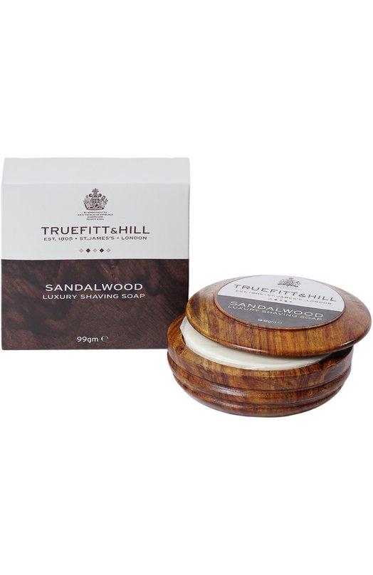 Люкс-мыло для бритья в деревянной чаше Sandalwood Truefitt&Hill 00554