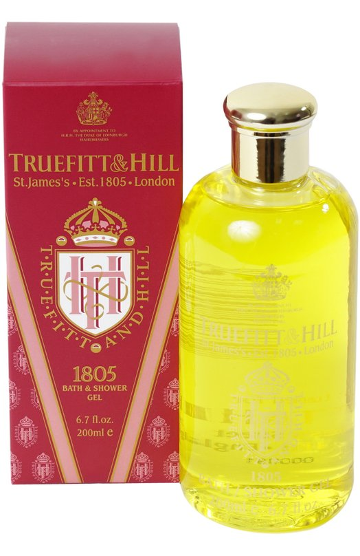 Купить Гель для ванны и душа 1805 Truefitt&Hill, 38, Великобритания, Бесцветный
