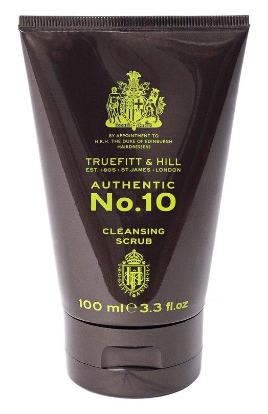 Скраб для очищения кожи лица Authentic No. 10 Truefitt&amp;HillУход для лица<br><br><br>Объем мл: 100<br>Пол: Мужской<br>Возраст: Взрослый<br>Цвет: Бесцветный