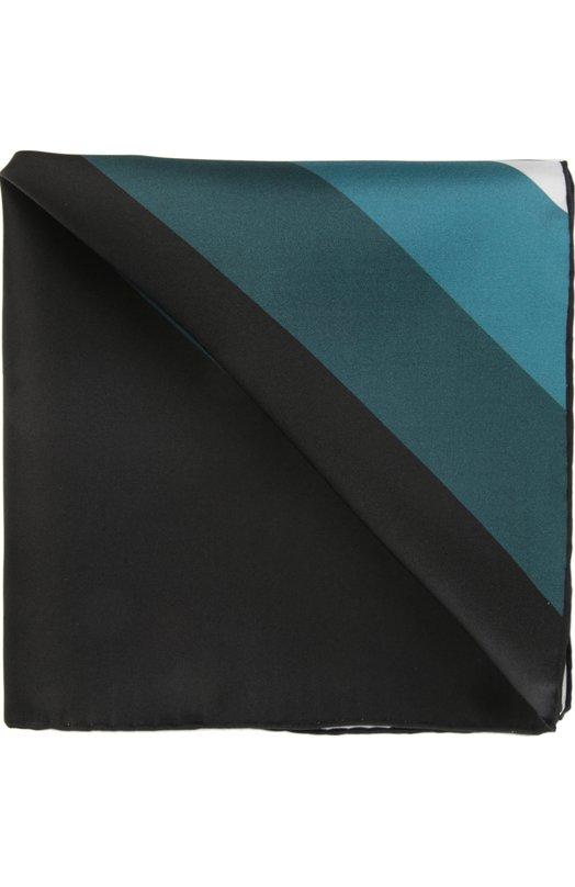 Купить Платок Tom Ford, 7TF76TF312, Италия, Изумрудный, Шелк: 100%;
