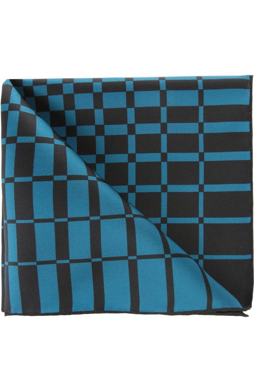 Купить Платок Tom Ford, 7TF72TF312, Италия, Морской волны, Шелк: 100%;