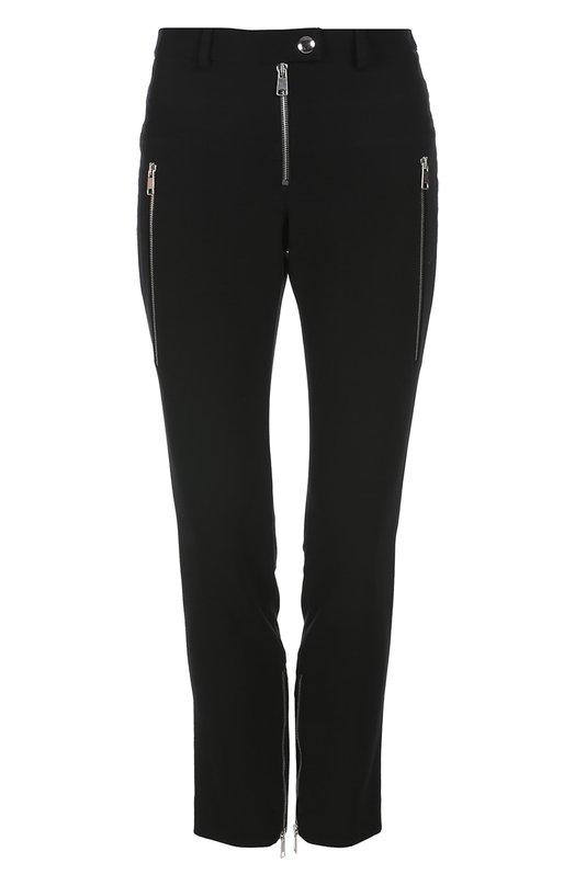 Укороченные зауженные брюки с карманами Alexander McQueen 409406/QGJ10