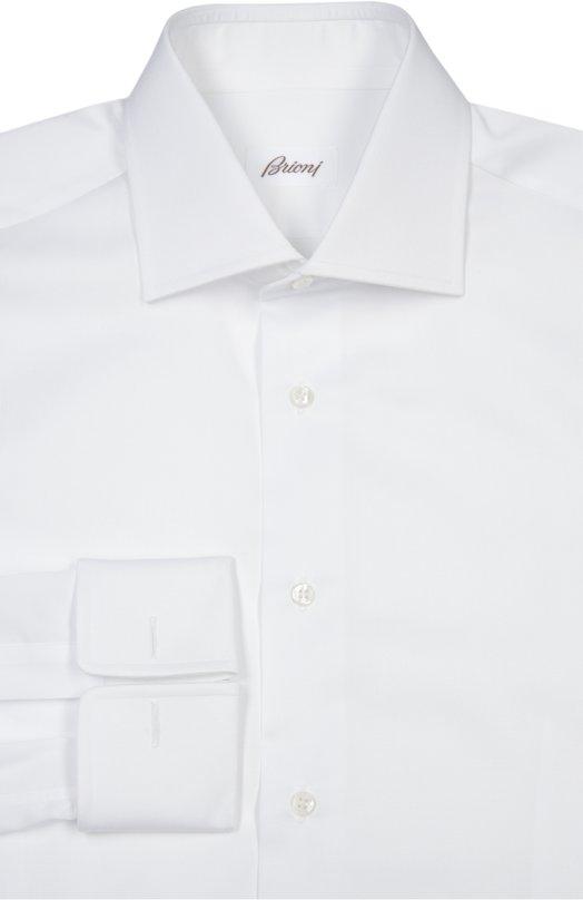 Купить Сорочка Brioni, RCL9/PZ003/PG, Италия, Белый, Хлопок: 100%;