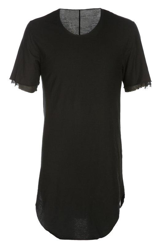 Футболка джерси Lost&amp;FoundФутболки<br>Удлиненная черная футболка с короткими рукавами вошла в коллекцию сезона весна-лето 2016 года. Модель силуэта slim-fit выполнена из тонкого ультрамягкого хлопка джерси. Нам нравится сочетать с бриджами в тон, жилетом и кедами.<br><br>Российский размер RU: 44<br>Пол: Мужской<br>Возраст: Взрослый<br>Размер производителя vendor: XS<br>Материал: Хлопок: 100%;<br>Цвет: Черный