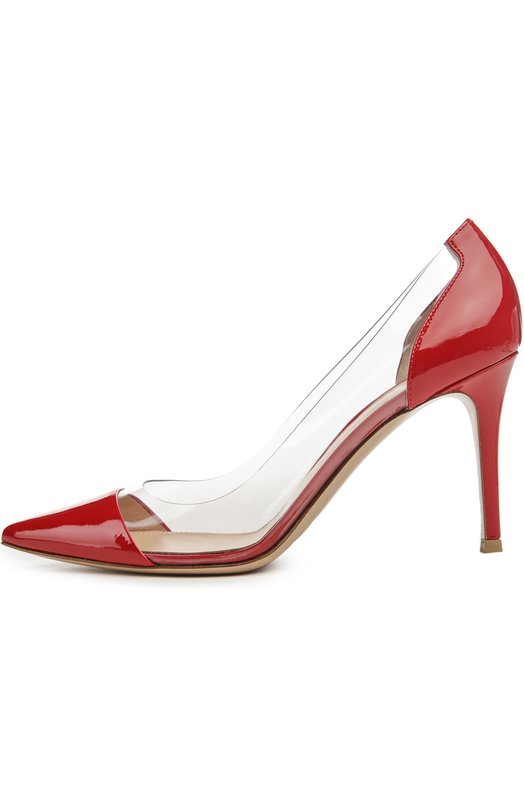 Лаковые туфли Plexi на шпильке Gianvito Rossi Gianvito Rossi