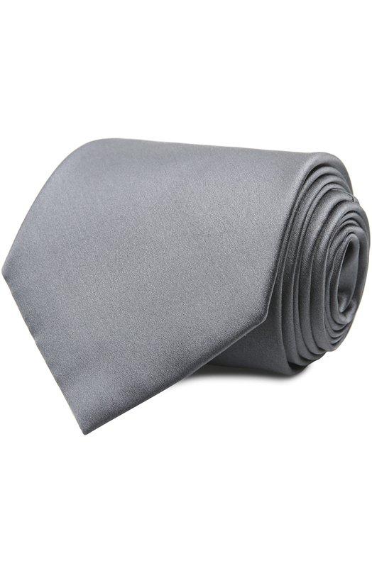 Галстук BrioniГалстуки<br>Для создания аксессуара мастера марки использовали мягкий и гладкий шелк темно-серого цвета. Широкий галстук ручной работы вошел в коллекцию весна-лето 2016 года. Нам нравится сочетать с белоснежной рубашкой и темным костюмом.<br><br>Пол: Мужской<br>Возраст: Взрослый<br>Размер производителя vendor: NS<br>Материал: Шелк: 100%;<br>Цвет: Темно-серый