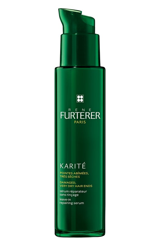 Восстанавливающая сыворотка для кончиков волос Karite Rene FurtererМаски / Сыворотки<br><br><br>Объем мл: 30<br>Пол: Женский<br>Возраст: Взрослый<br>Цвет: Бесцветный
